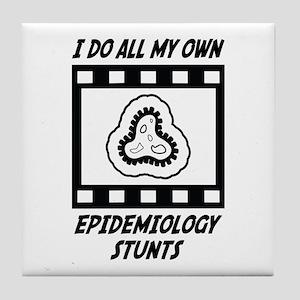 Epidemiology Stunts Tile Coaster