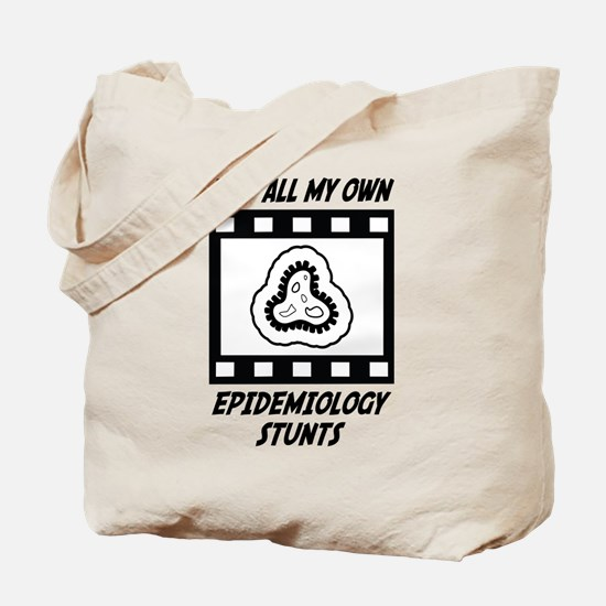 Epidemiology Stunts Tote Bag