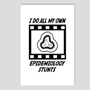 Epidemiology Stunts Postcards (Package of 8)