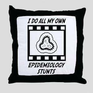 Epidemiology Stunts Throw Pillow