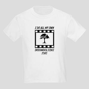 Environmental Science Stunts Kids Light T-Shirt