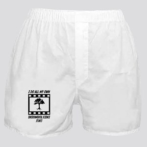 Environmental Science Stunts Boxer Shorts