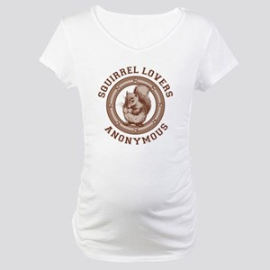 Squirrel Lovers Maternity T-Shirt