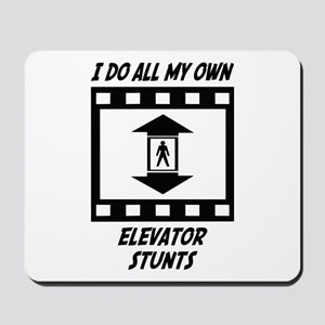 Elevator Stunts Mousepad