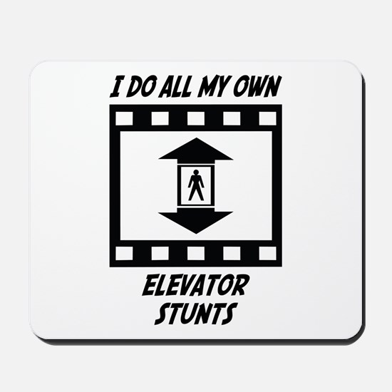 Elevator Stunts Mousepad