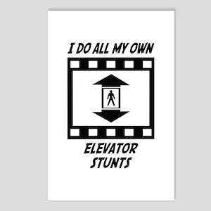 Elevator Stunts Postcards (Package of 8)