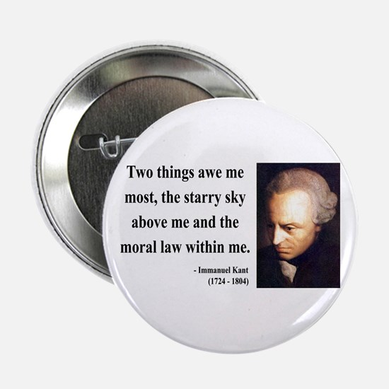 "Immanuel Kant 5 2.25"" Button"