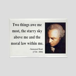 Immanuel Kant 5 Rectangle Magnet