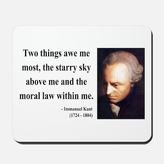 Immanuel Kant 5 Mousepad