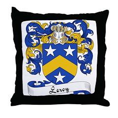 Leroy Family Crest Throw Pillow Leroy Family Crest Coat Of Arms Coats Of Arms Family Crests