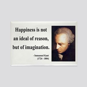 Immanuel Kant 6 Rectangle Magnet