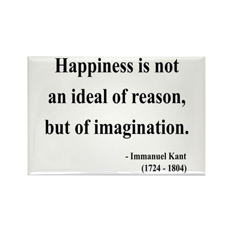 Immanuel Kant 6 Rectangle Magnet