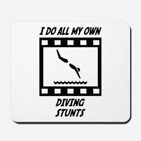 Diving Stunts Mousepad