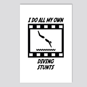 Diving Stunts Postcards (Package of 8)