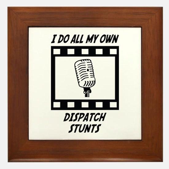 Dispatch Stunts Framed Tile