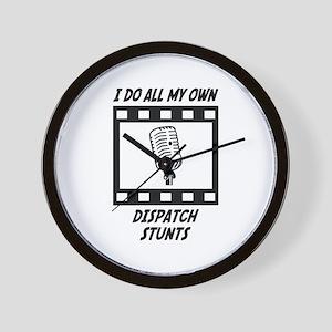 Dispatch Stunts Wall Clock