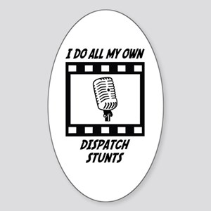 Dispatch Stunts Oval Sticker