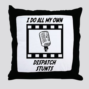 Dispatch Stunts Throw Pillow