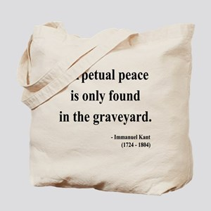Immanuel Kant 7 Tote Bag