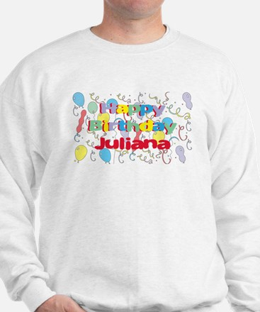 Happy Birthday Juliana Sweater
