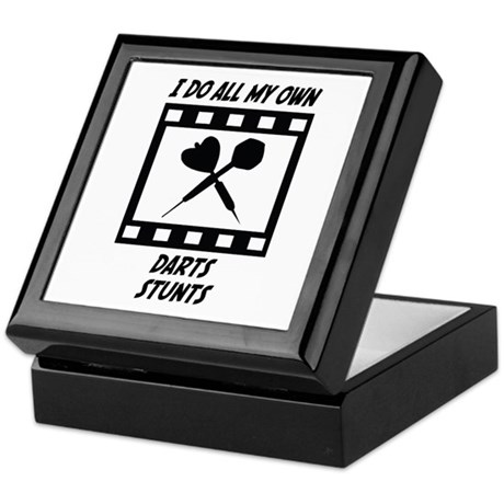 Darts Stunts Keepsake Box