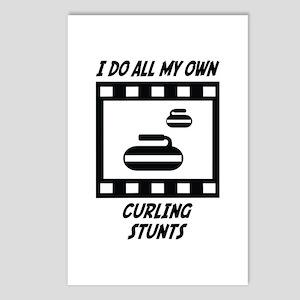 Curling Stunts Postcards (Package of 8)