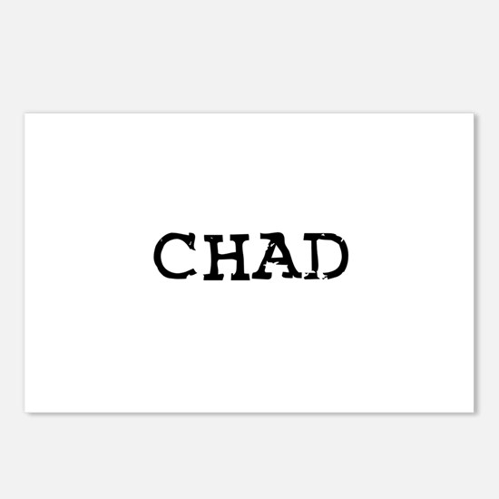 Chad Postcards (Package of 8)