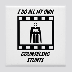 Counseling Stunts Tile Coaster