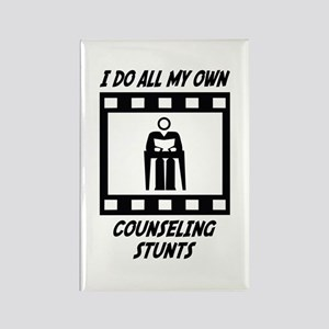 Counseling Stunts Rectangle Magnet