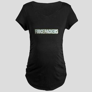 fudgepackers Maternity Dark T-Shirt