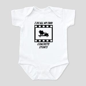 Concrete Stunts Infant Bodysuit