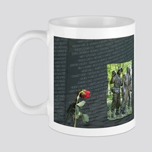 vietnam wall memorial Mugs
