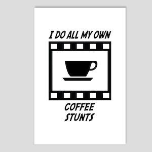Coffee Stunts Postcards (Package of 8)