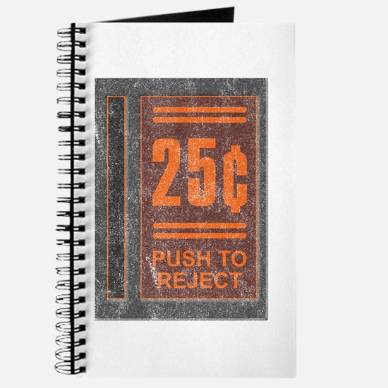 25¢ Push to Reject Journal