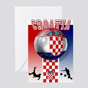 Croatian Football Greeting Cards