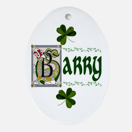 Barry Celtic Dragon Ornament