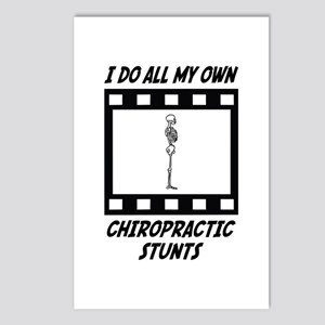 Chiropractic Stunts Postcards (Package of 8)