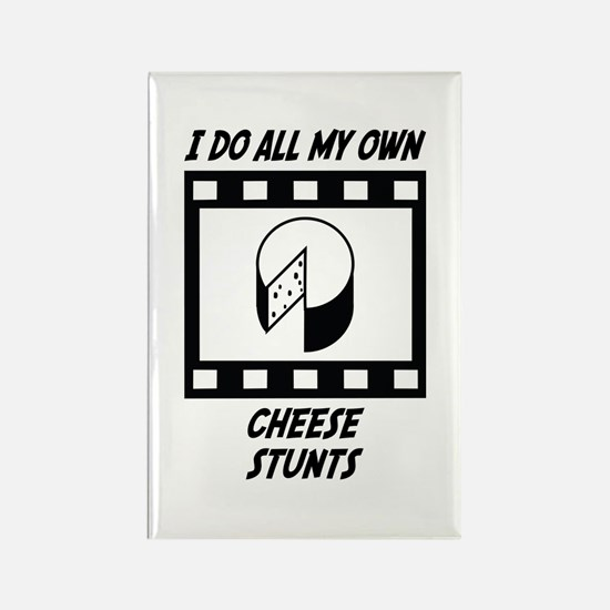 Cheese Stunts Rectangle Magnet