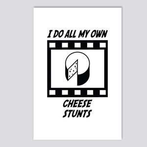 Cheese Stunts Postcards (Package of 8)