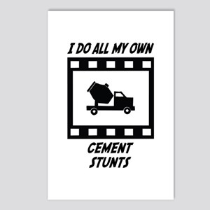 Cement Stunts Postcards (Package of 8)