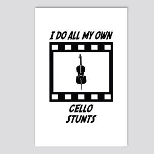 Cello Stunts Postcards (Package of 8)