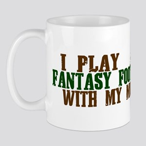 Fantasy Football with Mommy Mug