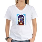 Traveling to the Arch Women's V-Neck T-Shirt