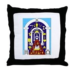 Traveling to the Arch Throw Pillow