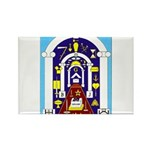 Traveling to the Arch Rectangle Magnet (100 pack)