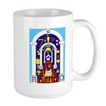 Traveling to the Arch Large Mug