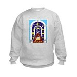 Traveling to the Arch Kids Sweatshirt