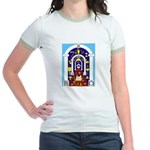 Traveling to the Arch Jr. Ringer T-Shirt