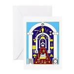 Traveling to the Arch Greeting Card