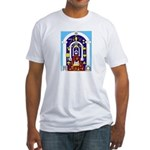 Traveling to the Arch Fitted T-Shirt